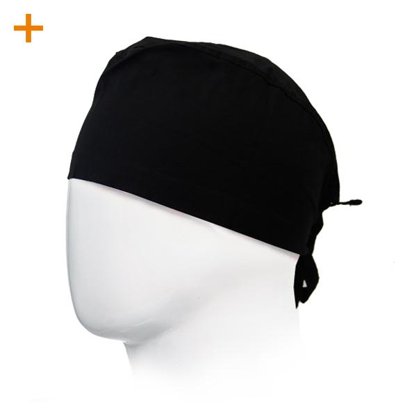 OP Haube Black 100% Baumwolle