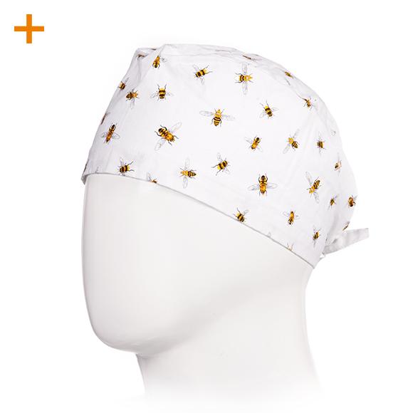 OP Haube Buzzing Bees 100% Baumwolle